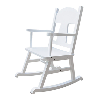 Wood Chair Kids White Rocking Porch Rocker Product On