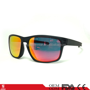 outdo sports sunglasses man high quality famous brand sliver okeyable