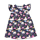 New Arrival Fashionable Unicorn Dress Kids Apparel Baby Clothes Girls Party Dress