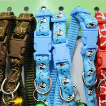 Different Colors Factory Price Nylon Pet Cute Dog Beeper Bell Collar For Dogs