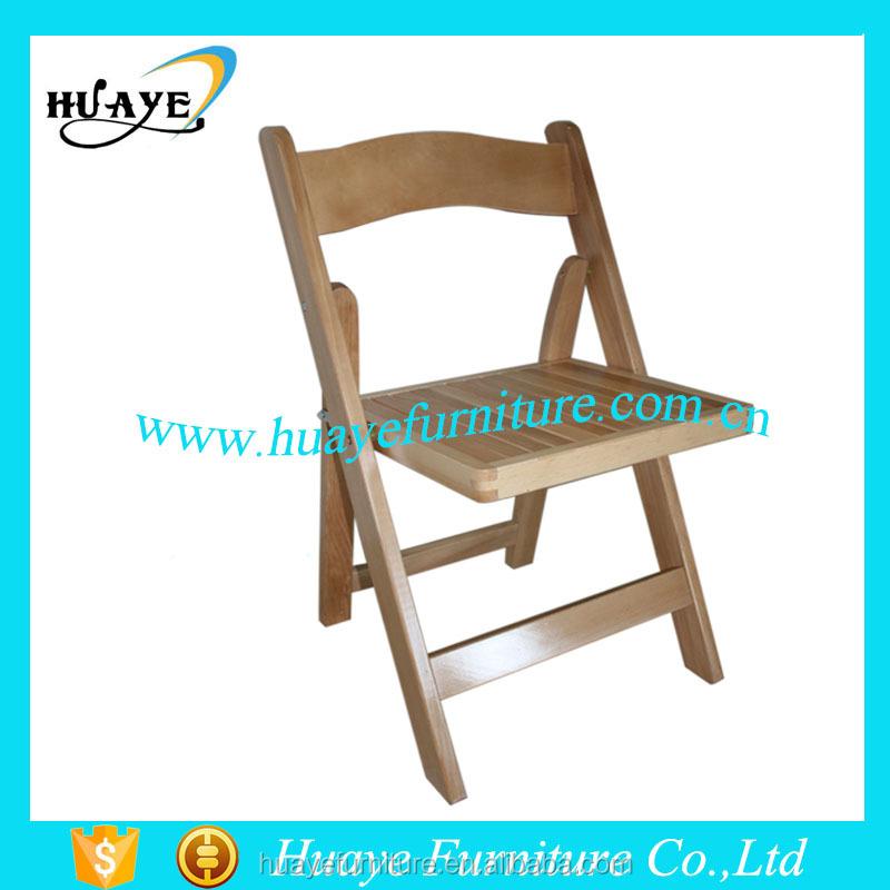 silla plegable acolchada clasica
