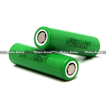 Wholesale Batteries Lg Mah 3 7v Cylinder Lithium Ion Battery Mj1 Vs Sanyo Li