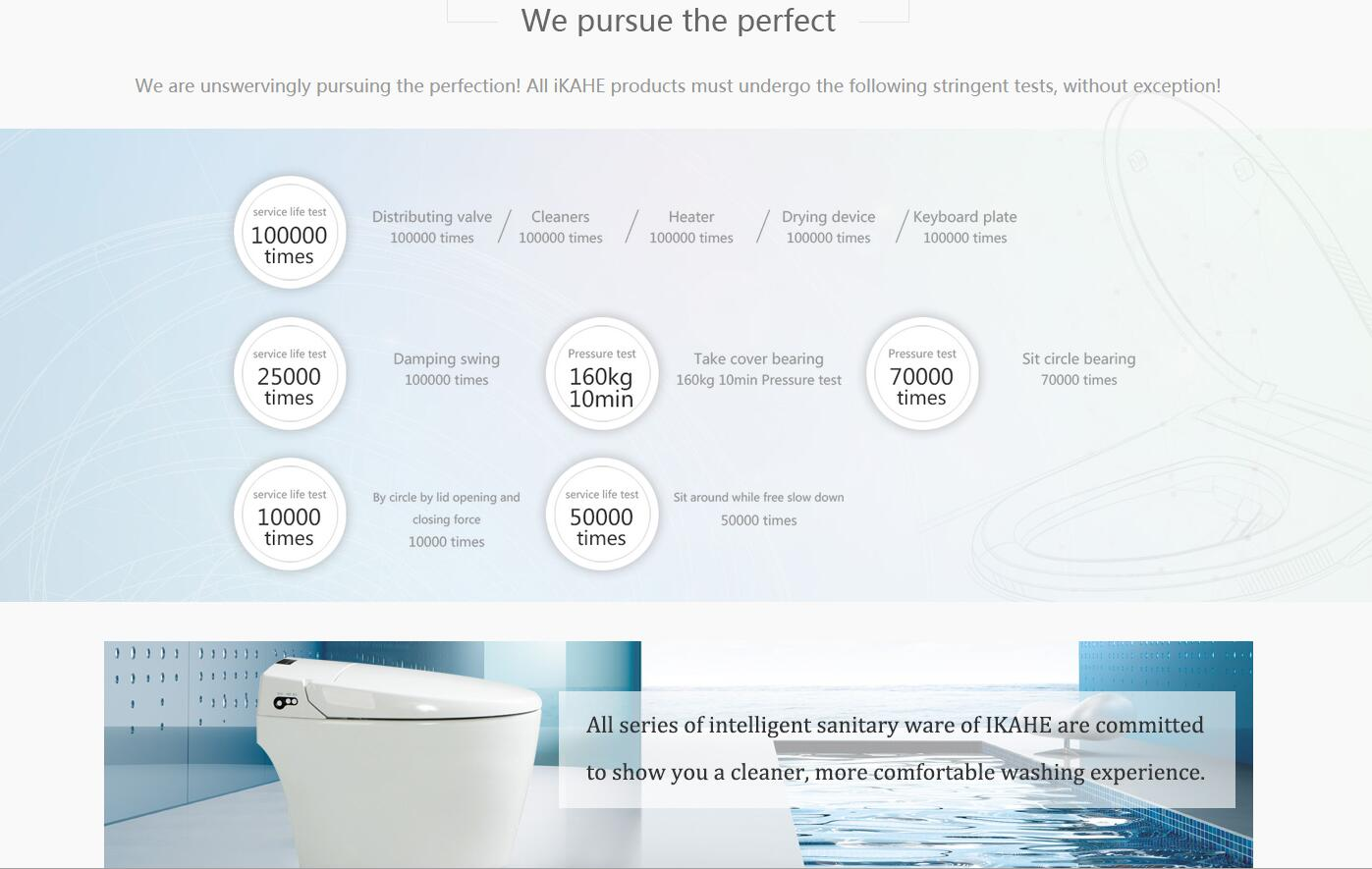 Sanitary ware wc toilet bathroom ceramic intelligent toilet factory price