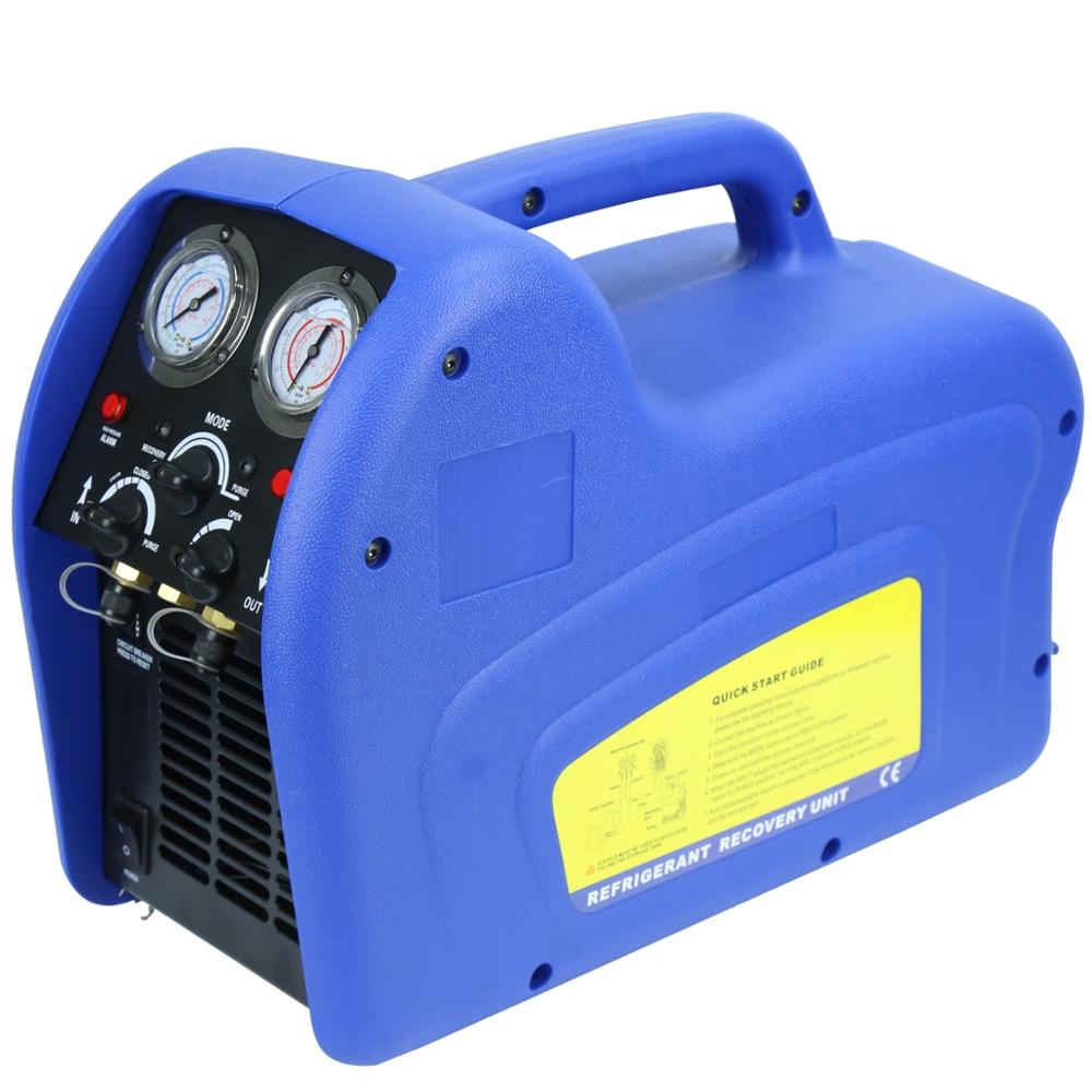 Oil -less R22/r134/r410 Handle Air Condition A/c Auto Refrigerant Recovery  Machine Reco250 - Buy Oil -less Refrigerant Recovery Unit,Blue Refrigerant