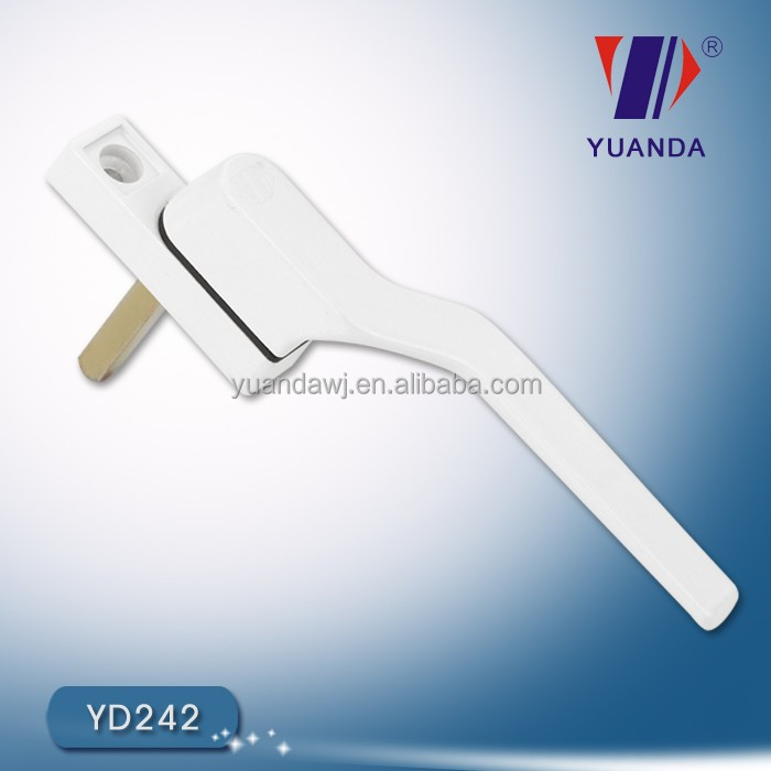 fashion design UPVC window handle accessories/door hardware materials