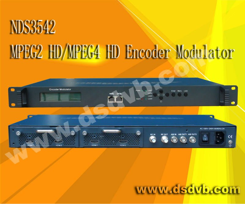 HD encoder modulator mpeg4