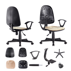 Office Swivel Fabric chair parts And Components MAC KT-02H