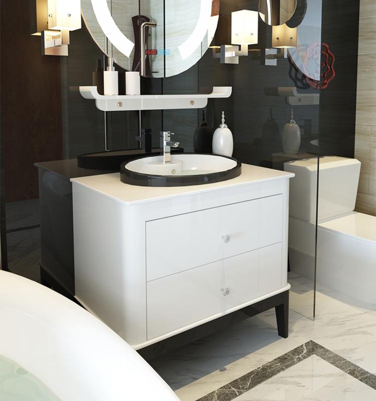Moderne Plancher Debout Ip56 Led Miroir Vanité Vasque En Céramique Comptoir  En Marbre Inde Marché Armoire De Salle De Bain - Buy Armoire De ...