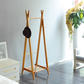 Height Adjustable Wooden Standing Coat Rack Buy Diy Standing Coat Mesmerizing Standard Coat Rack Height