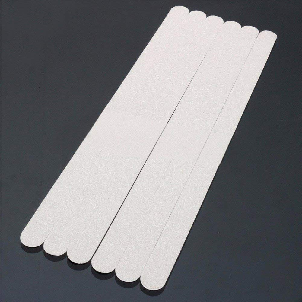 Get Quotations Getmore7 Bathtub Anti Slip Strips 6pcs Pack Bath Safety Treads Non Stickers