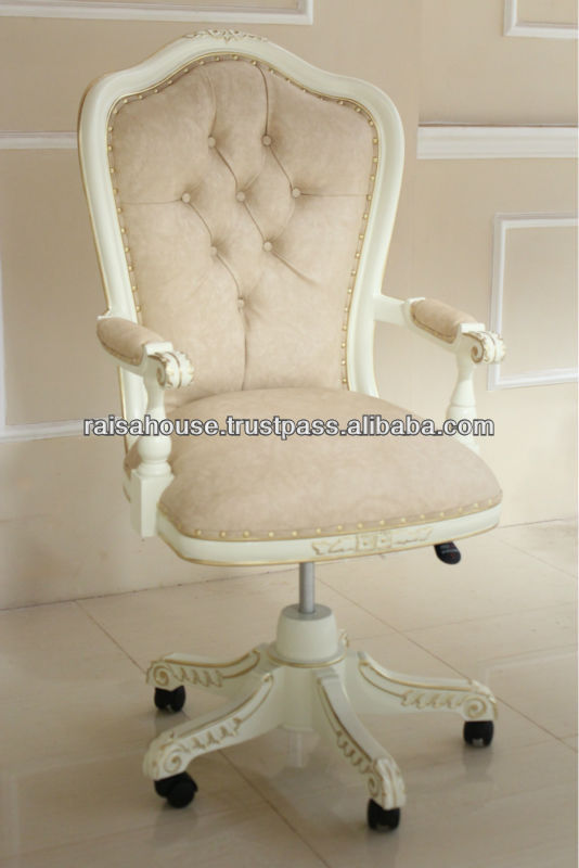 French Furniture Swivel Desk Chair Style Jepara Product On Alibaba