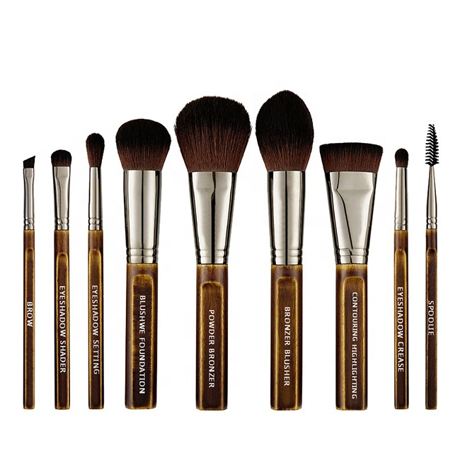 Private label luxurious makeup brushes set diamond handle makeup brush фото