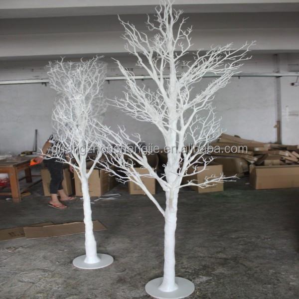 Q123108 branco tronco de rvore artificial decora o da - Papel pintado ramas arbol ...