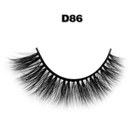 New styles magnetic strip false lashes private label 3d synthetic eyelash