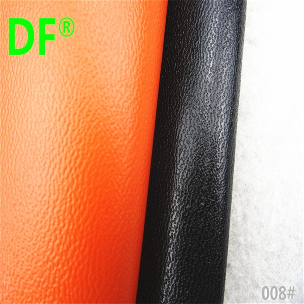 wholesale lots newest pattern 008# leather, black and orange color for wallect purse