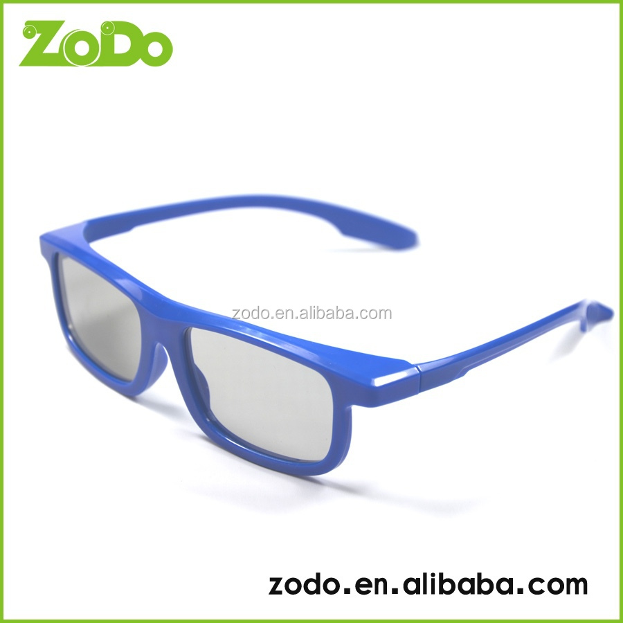 THE DIGITAL STEREOSCOPIC FILMS CIRCULAR POLARIZED 3D GLASSES PASSIVE