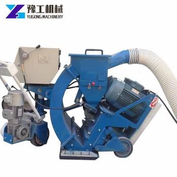 YG Factory Retail Wholesale Floor Shot Blasting Machine Concrete Blaster For Sale