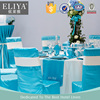 ELIYA Polyester Linen Wedding Hotel Table Cloth And Chair Cover