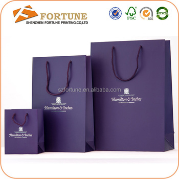 2015 New Pattern Paper Shopping Bag Brand Name/wholesale Paper ...