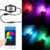 9005 9006 H4 H7 H11 RGB Bluetooth Music Control Auto LED Headlight Bulbs