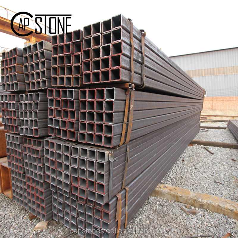 Building material galvanized steel hollow sections square tube section weight