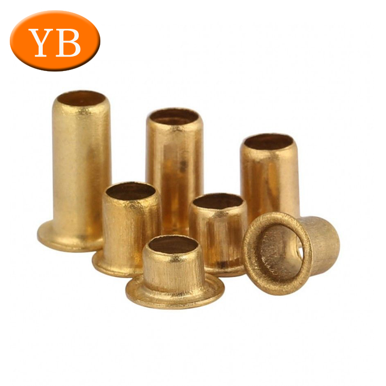 Factory Wholesale DIN Rivet Nut Custom Lathe Parts Stainless Steel Aluminum Rivet Nut With High Quality