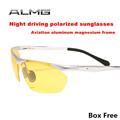 2015 Night vision goggles night vision glasses light driving mirror night driving glasses polarized sunglasses Anti