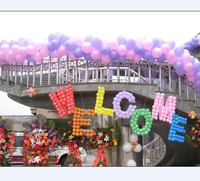 high quality colorful custom strong latex balloons