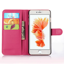 Wholesale Book Flip PU Leather CellPhone Case For iPhone 6S Plus Case