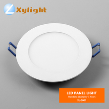 New style office home 3w 4W 5w 6w 12w 18w 24w ulter thin 3inch led round panel light SMD LED ceiling panel light