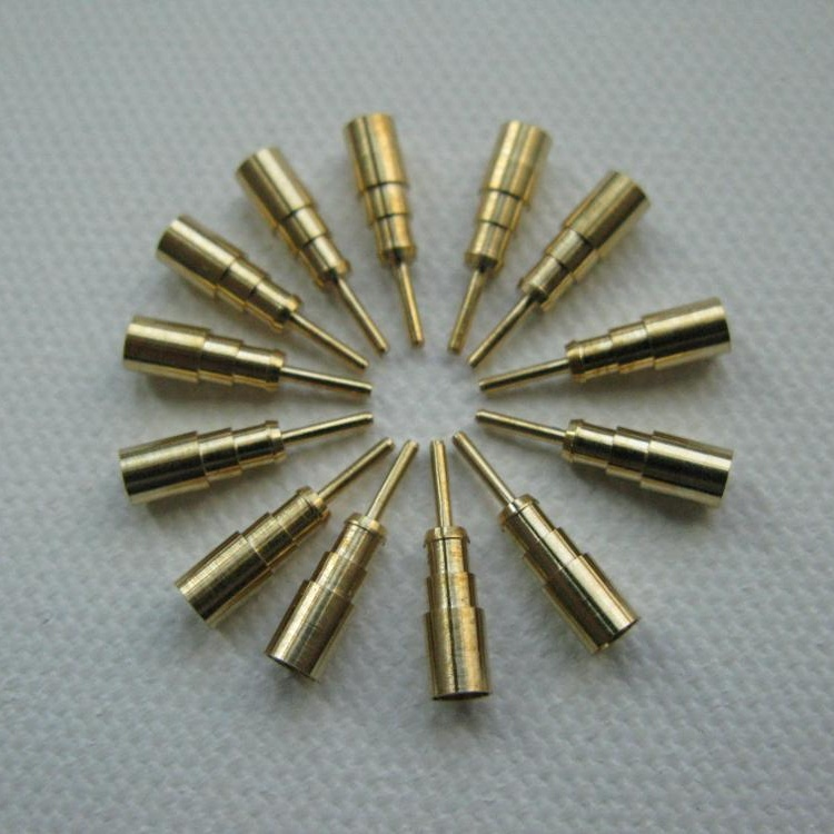 Customized CNC Machined Beryllium Copper Connectors with High Precision