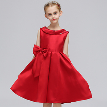 Baby girl wedding outfit fancy frock tutu flower girl backless dresses for wedding birthday party l L569