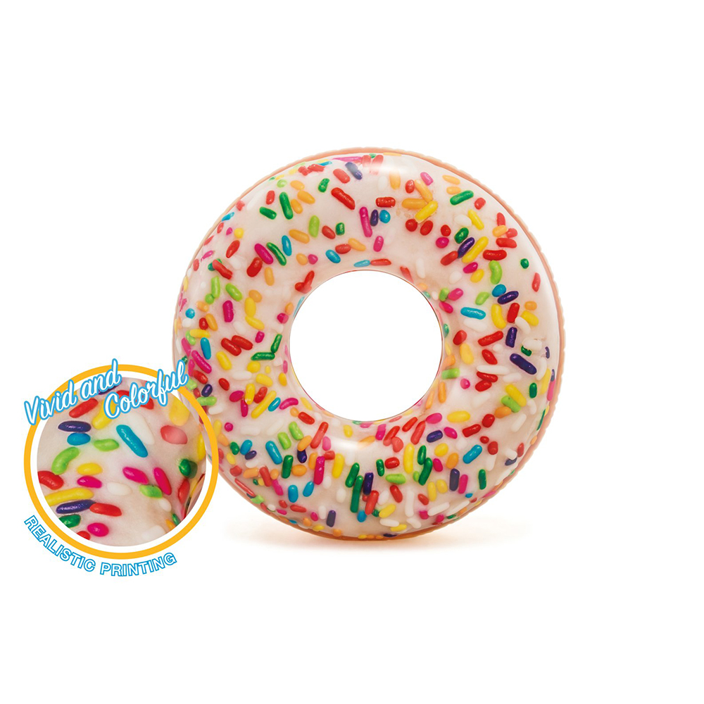 China Manufacturer Supplier High Quality Large Custom Inflatable Sprinkle  Donut Tube Water Swim Ring Pool Toys Float - Buy Inflatable Sprinkle Donut