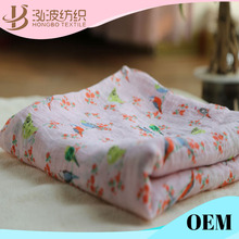 "100% Organic Cotton Muslin Wrap Blanket 47*47"" Baby Muslin Swaddle"
