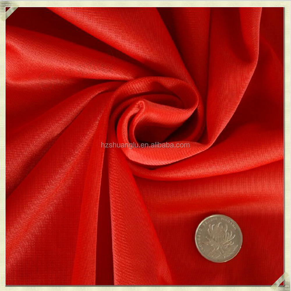 zhejiang textile factory 100% polyester men's sports wear velvet fabric