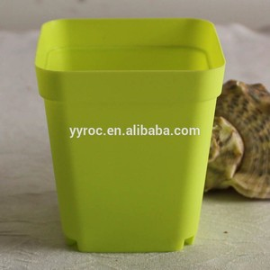 Plastic cheap square nursery flower pot