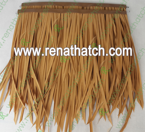 Cheap UV Protected Synthetic Thatch Roof