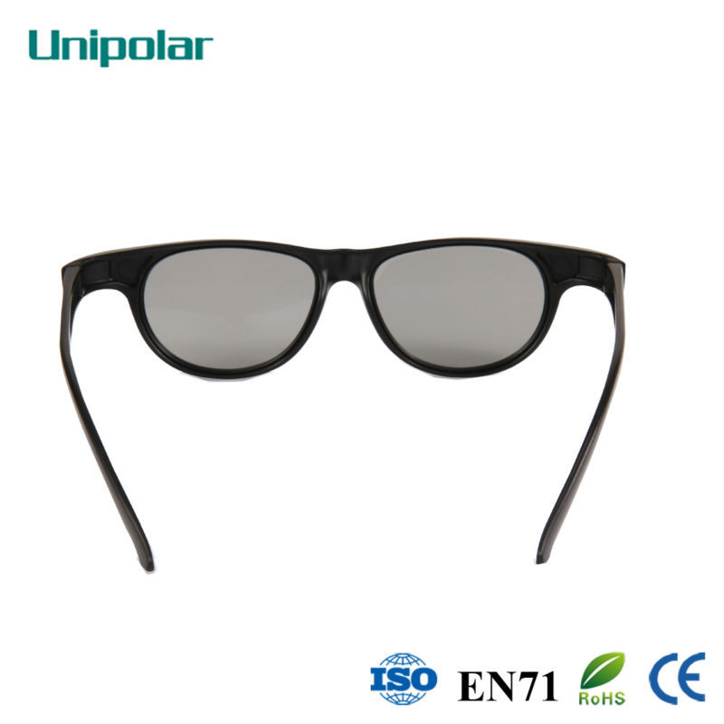 Black 3D Glasses for Movie Theater