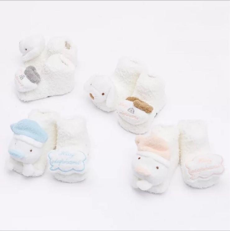 afef63ef339dc Coral fleece Cute Cartoon thick toddler socks autumn winter Baby Socks Soft  Animal Pattern newborn infant Boys Girls Floor Sock