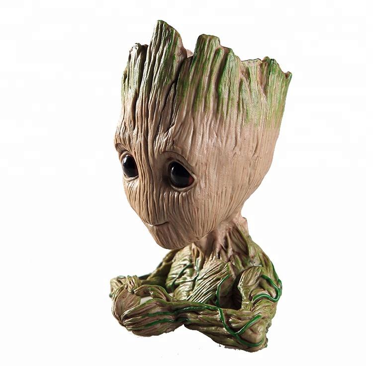 ALEN Guardians of the Galaxy Tree Man /& Rocket Raccoon PVC Action Figure 14cm