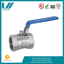 New mode sanitary fast install compact structure 1pc female thread ball valve picture