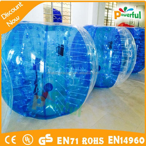 100% TPU football Excellent quality inflatable Bumper Ball ,zorb football to buy
