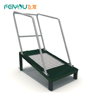 FEIYOU Commercial Galvanized Steel Anti Crack Outdoor Body Sports Fitness Gym Equipment