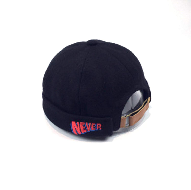 3f60fc95c28 Get Quotations · Unisex Fashion Miki Cap Wool Beanie hat Black Gray camel  Red Short Watch cap