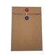 Custom envelope plain A4 size envelope manilla brown envelope with button