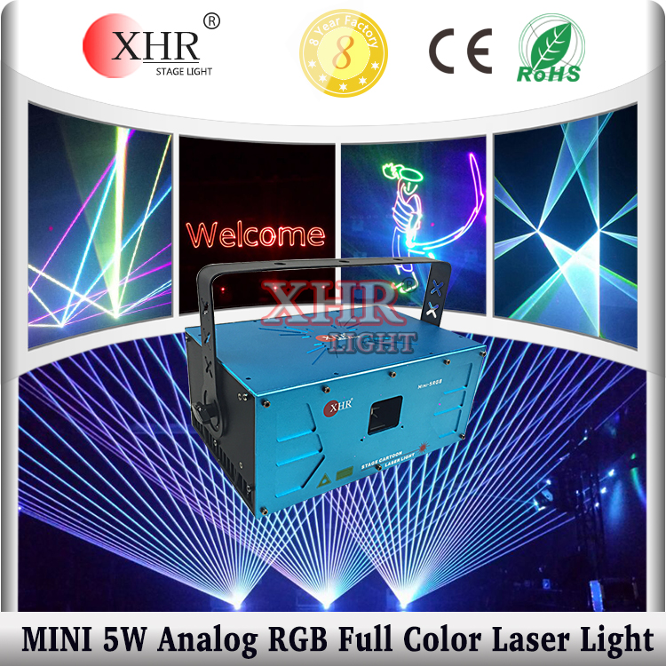 MINI 5 watt RGB animation dj/disco/wedding stage laser light for light show