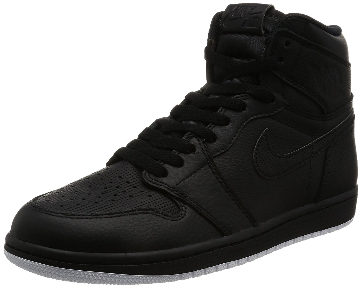 3a2ae19035e7d2 Jordan Men Air Jordan 1 Retro High OG (black   white-black)