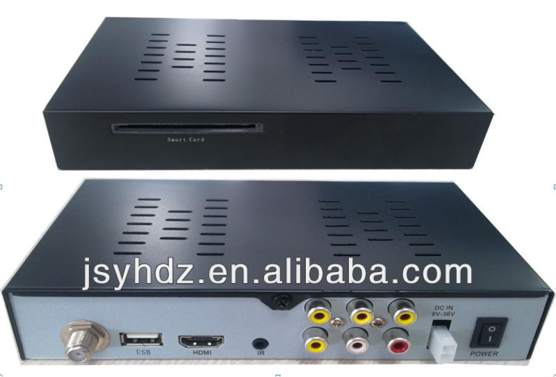 H.264/MPEG4 mobile dvb-t set top box