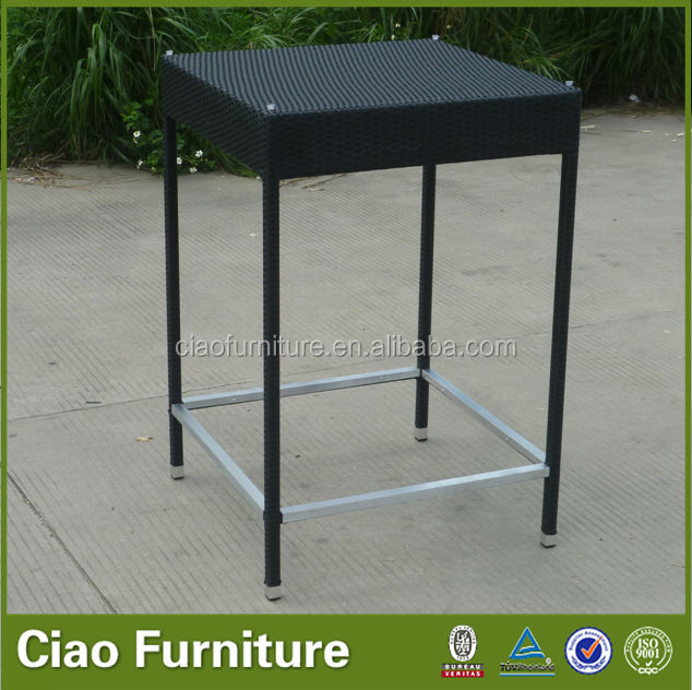 Outdoor Rattan Bar Furniture Used Bar Table