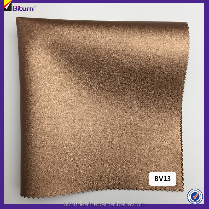 PU artificial leather fabric for making bags